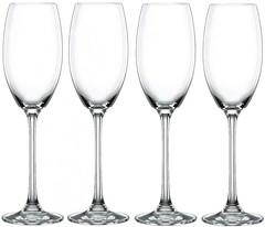 Набор из 4-х бокалов для шампанского Champagne Glass ViNova, 280 мл, фото 4