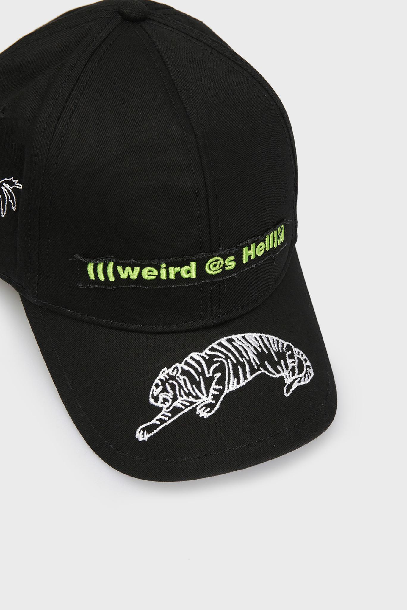 Черная кепка COTIGRE Diesel