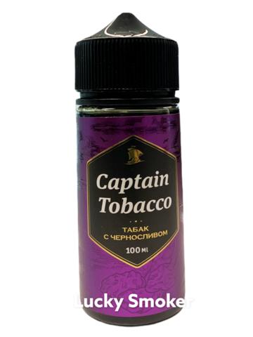 Жидкость Captain Tobacco 100 мл Табак с Черносливом