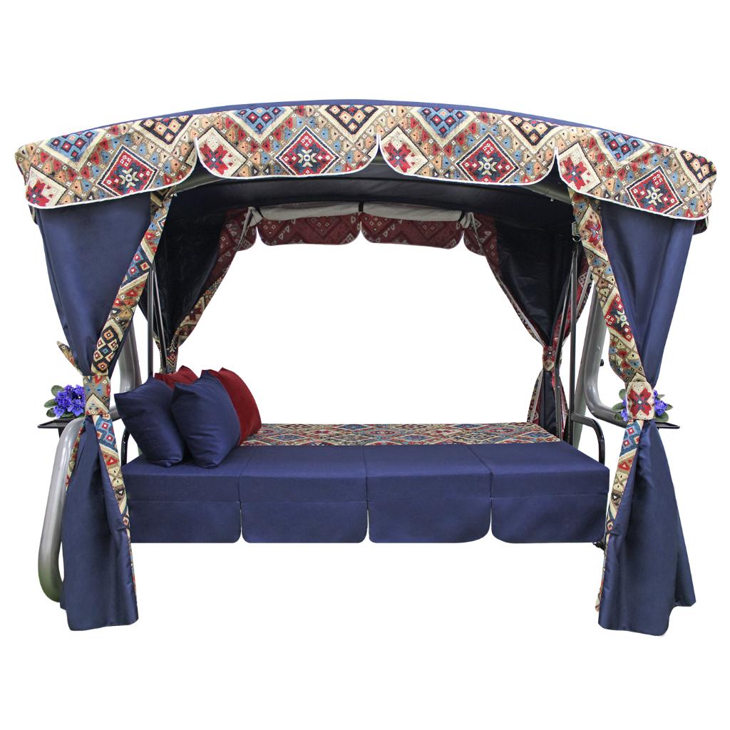 Кавказ синий кровать
