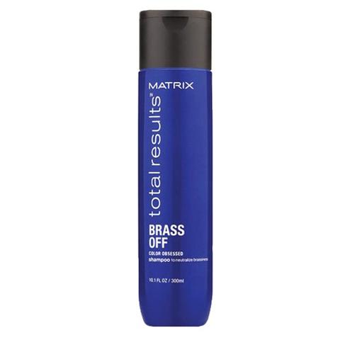 Matrix Total Results Color Obsessed Brass Of: Шампунь для нейтрализации желтизны волос (Shampoo), 300мл/1л