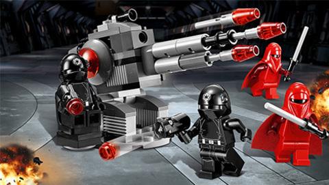 LEGO Star Wars: Воины Звезды Смерти 75034 — Death Star Troopers — Лего Стар ворз Звёздные войны Эпизод