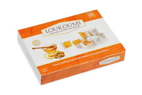 Лукум с медом и грецкими орехами Candianuts 160 гр