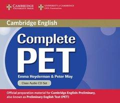 Complete PET  Class Audio CDs (2) !!