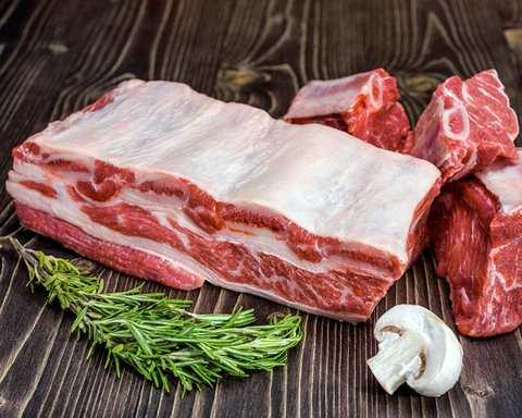 Ребра свиные/говяжьи 1кг