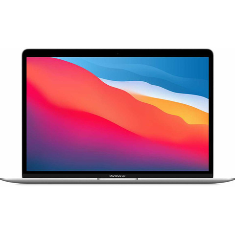 MacBook Air (M1, 2020) 8 ГБ, 256 ГБ SSD, серебристый