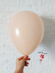 Воздушный шар нежно-персиковый