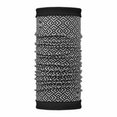 Теплый шарф-труба трансформер Buff Gawa Multi / Black