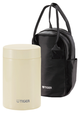 Термос для еды Tiger MCJ-A (0,75 литра), бежевый
