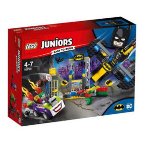 Lego konstruktor Juniors Нападение Джокера на Бэтпещеру 10753