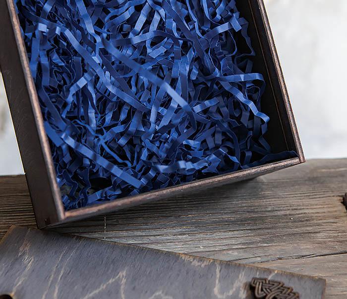 BOX231-1 Деревянная фирменная коробка формата А6 (19*15*6 см) фото 04