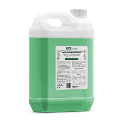 Концентрат для дезинфекции, достерилизационной очистки, холодной стерилизации инструментов и поверхностей Touch Protect 5 l (1)