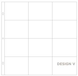 Фотофайлы Project Life-Дизайн V-штучно