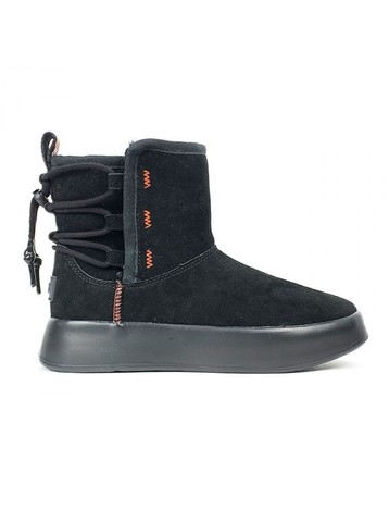 UGG CLASSIC BOOM ANKLE BOOT BLACK