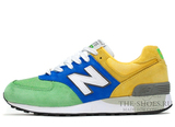 Кроссовки Мужские New Balance 576 Green Blue Yellow