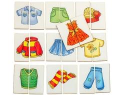 Картинки-половинки Одежда, Smile Decor