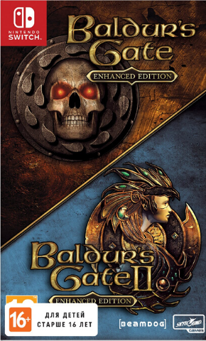 Baldur's Gate: Enhanced Edition (Nintendo Switch, русская версия)