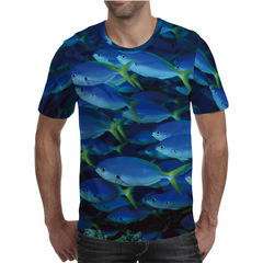 Футболка 3D принт, Рыба (3Д Fish) 12