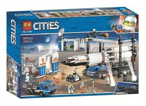 Сити 11388 Площадка для сборки и транспорт для перевозки ракеты 1097 д Конструктор