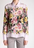 Рубашка из шелка D'EXTERIOR