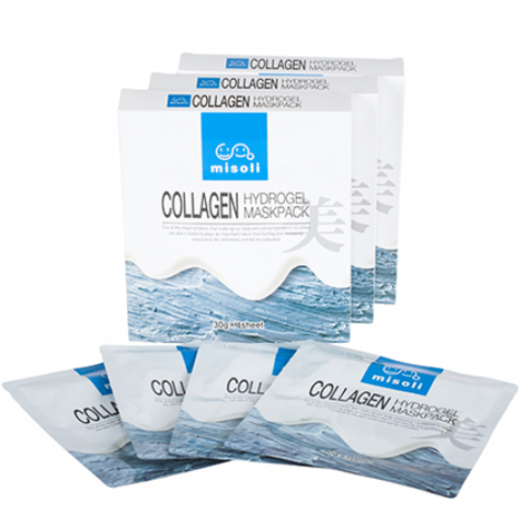 Misoli Collagen Hydrogel Facemask гидрогелевая маска с морским коллагеном и гиалуроновой кислотой