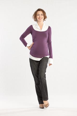 Блузка для беременных 01172 фиолетовый