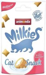 Лакомство для кошек TitBit Animonda Milkies Wellness, для поддержания красоты и здоровья шерсти