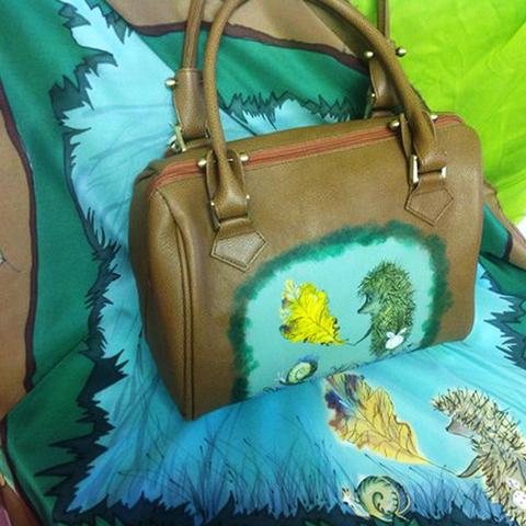 Комплект: Платок и сумка