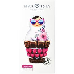 Marussia Шоколад молочный 32%  с малиной  90 г