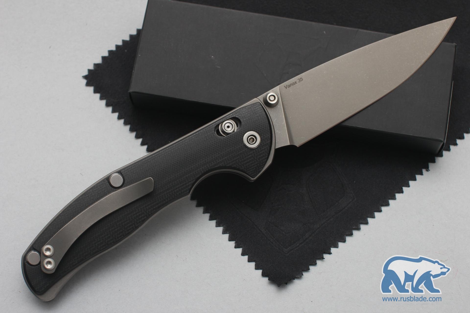 Shirogorov Tabargan 100NS Vanax 35 G10 black - фотография