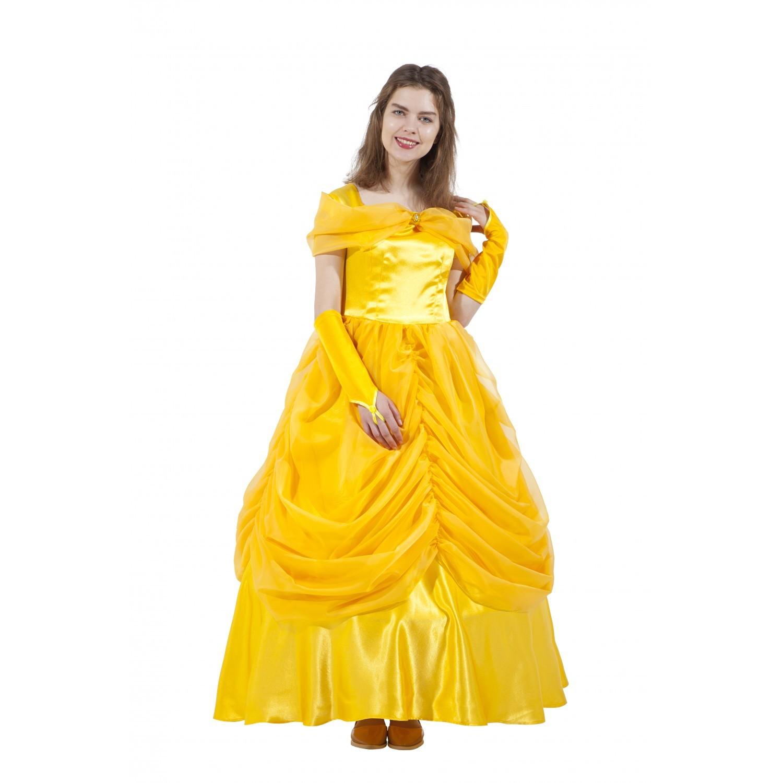 Карнавальный костюм  взрослый Принцесса Бель