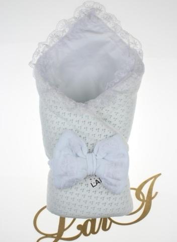 Демисезонный конверт одеяло Сказка (белый)