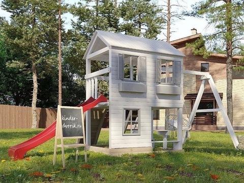 Деревянный детский домик на заказ