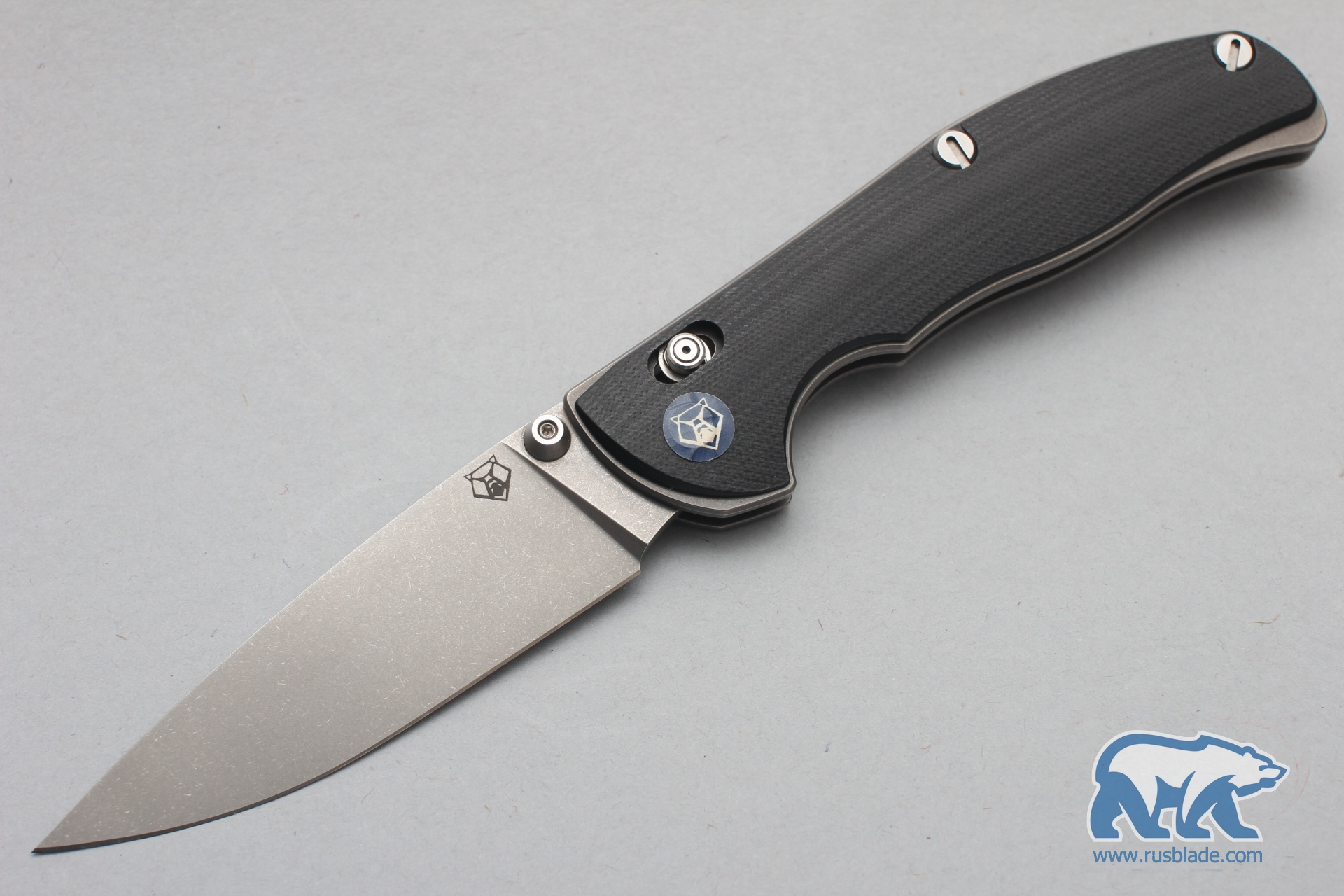 Shirogorov Tabargan 100NS Vanax 35 G10 black - фотография