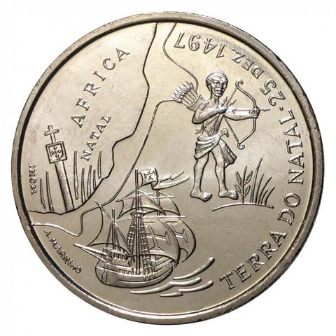 200 эскудо Португалия. Открытие Африки. 1998 год. UNC