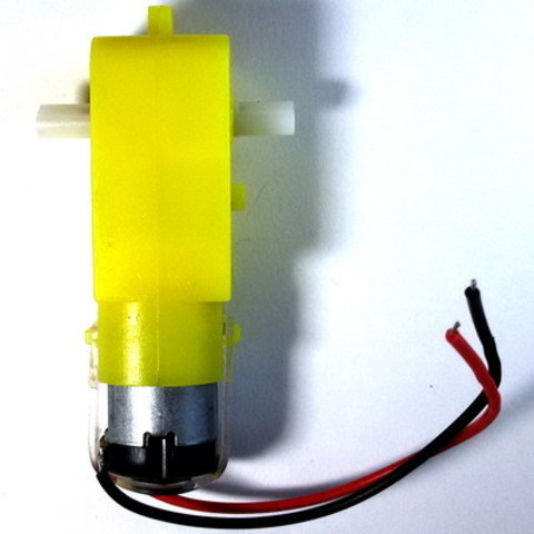 Мотор-редуктор для робота с проводом