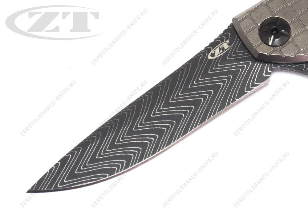 Нож Zero Tolerance 0450FCDAM Sinkevich - фотография