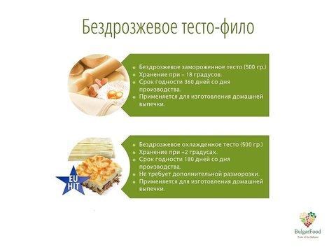 Тесто Фило из Болгарии 0,5