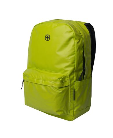 Городской рюкзак с водоотталкивающим покрытием салатовый (18 л) WENGER Photon 605202