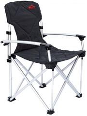 Кресло Tramp раскладное с жесткими подлокотниками , алюминий