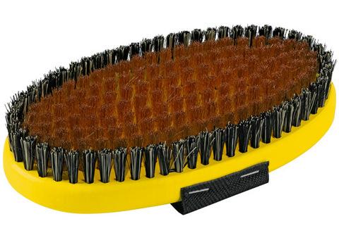 Картинка щетка Toko ручная, овальная, медная 17 мм  - 2
