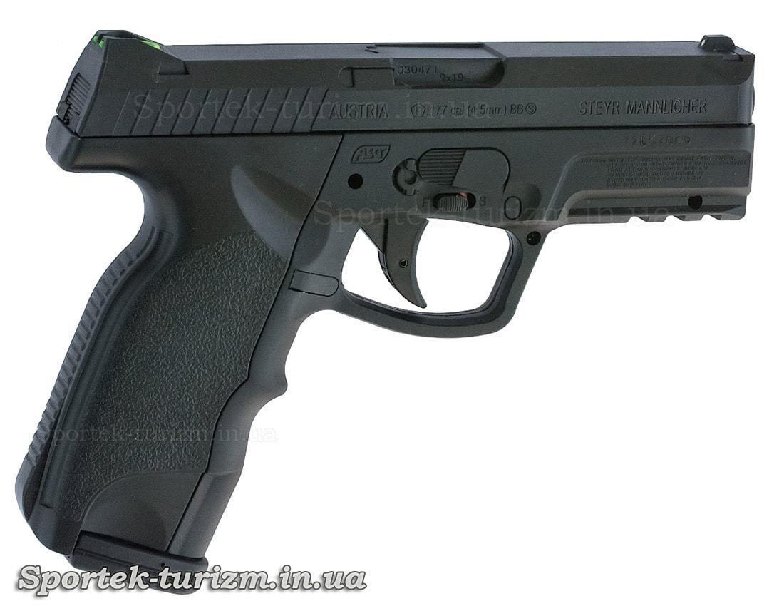 Права частина на пневматичний пістолет ASG Steyr M9-A1 4,5мм чорний