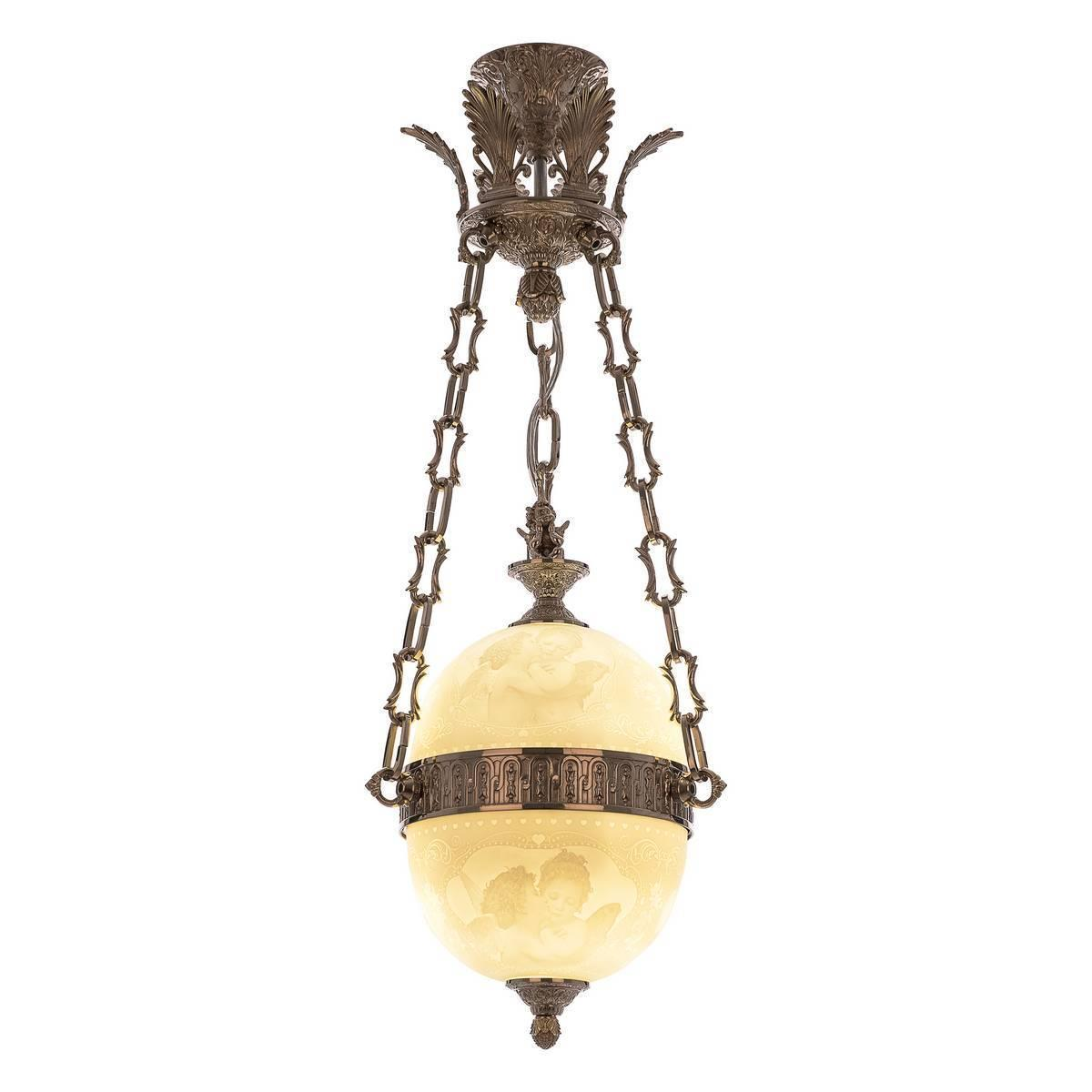 Подвесной светильник Bohemia Ivele 71000P/20 Ni Angel Y8 FA2S