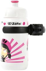 Фляга детская с держателем Zefal Little Z-Z-Girl Белый