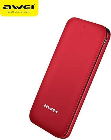 Awei / Внешний аккумулятор 8000 mAh P20k | красный
