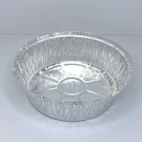 Круглый контейнер из пищевой алюминиевой фольги SPT546L