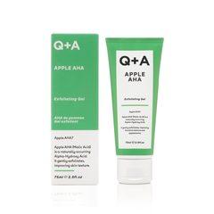 Q+A Отшелушивающий гель для лица APPLE AHA
