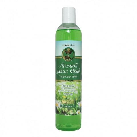 Гель для душа и ванн «Аромат диких трав» с гидролатом ромашки (Пк)