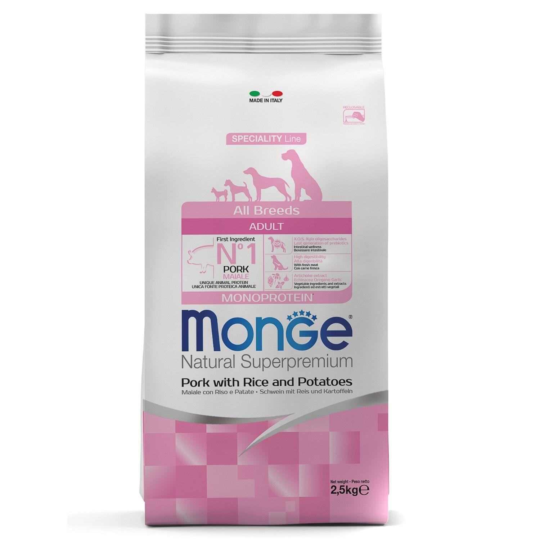 Monge Корм для собак Monge Dog со свининой, рисом и картофелем 70011105_1.jpeg