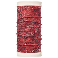 Теплый шарф-труба трансформер Buff Katisha Terracotta Burnt